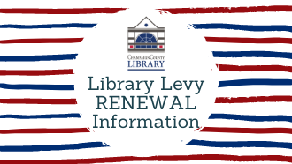Library Levy Renewal Information