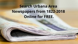 Search Urbana Area Newspapers